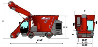 Sitrex Feed Mixer Wagons | Burder Industries