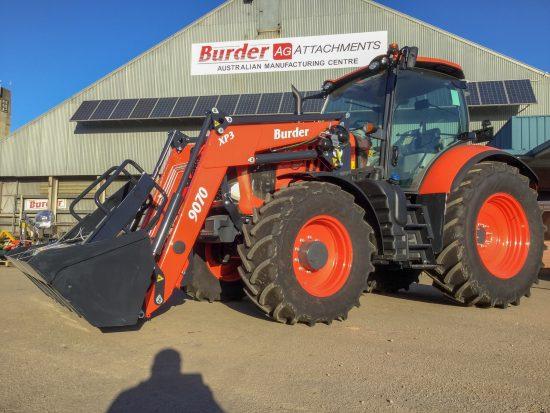 Burder Front End Loader   Burder Industries